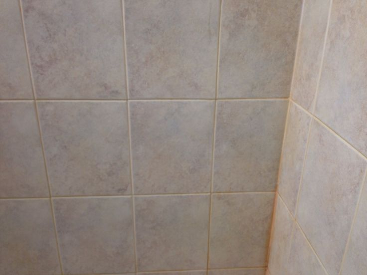 Hard Water Build Up On Shower Tile And Grout Www