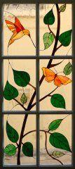 vitrail-papillon-oiseau-tiffany-paris-pontoise-atelier-val d'oise