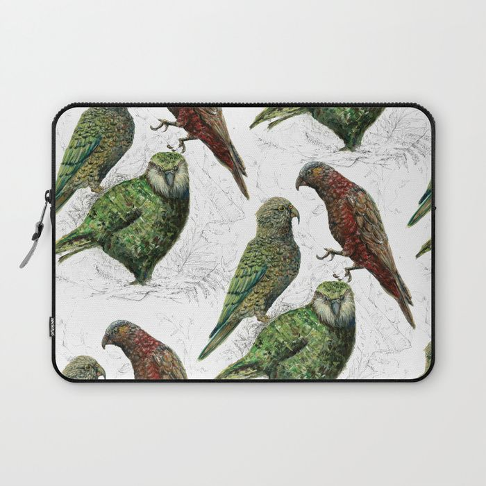 Buy Three native parrots of New Zealand Laptop Sleeve by emiliegeant. Worldwide shipping available at Society6.com. Just one of millions of high quality products available.
