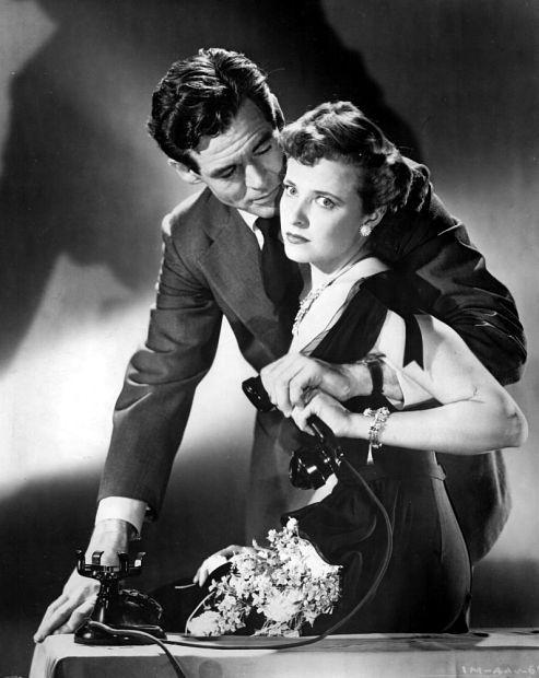 "Robert Ryan, Laraine Day-- The Woman on Pier 13.(Originally titled ""I Married a Communist"")1949 - directed by Robert Stevenson"