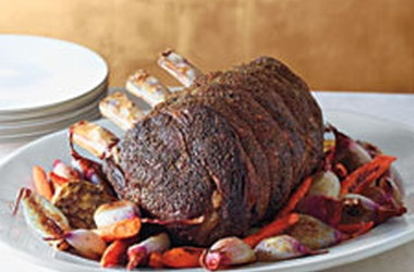 Herb-Crusted Standing Rib Roast | BBQ # SMOKING # GRILLING | Pinterest