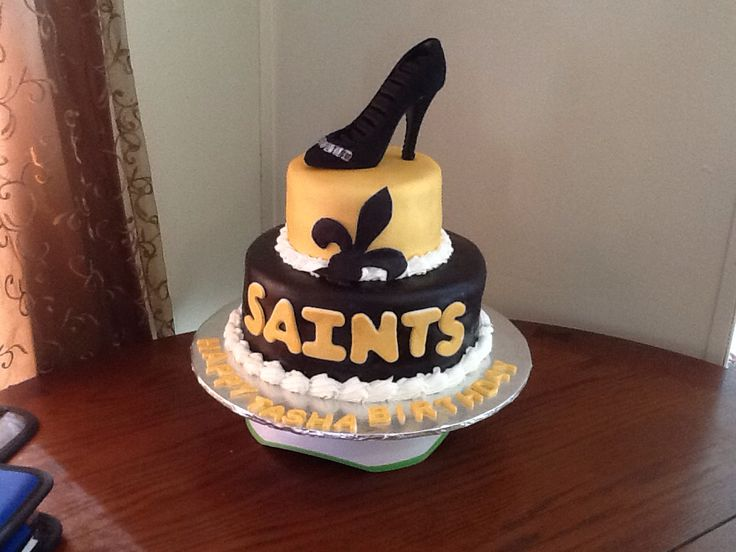 New Orleans Saints Cake Birthday