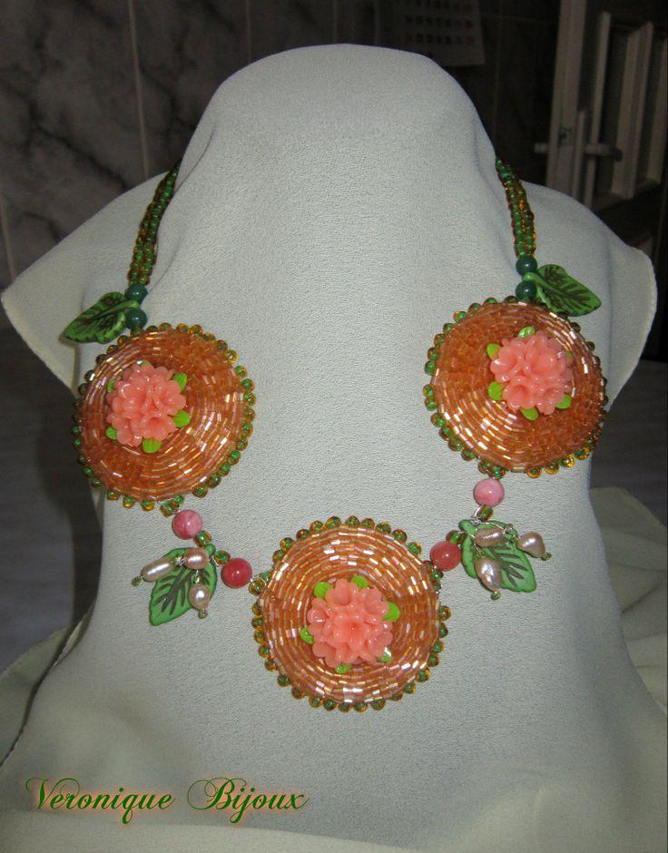 "Necklace ""Spring"""