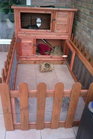 25 best ideas about rabbit cages on pinterest bunny for Homemade bunny houses