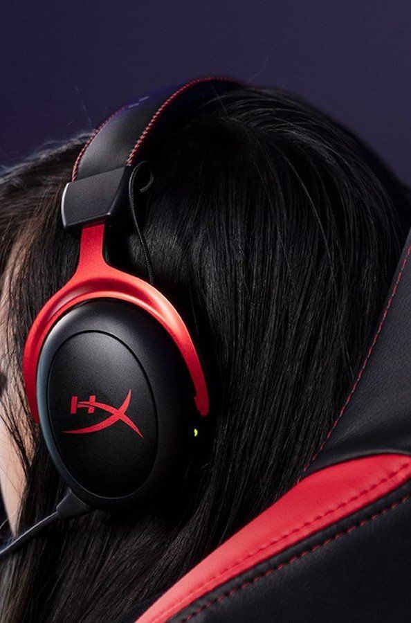 Hyperx Cloud Ii Gaming Headset Offers An Exceptionally Comfortable Design Headset Gaming Headset Hyperx