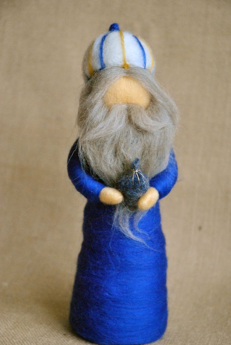 Nativity Scene Waldorf inspired needle felted van MagicWool op Etsy