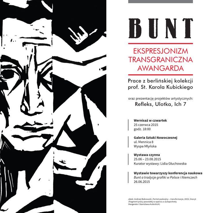 Bunt – Ekspresjonizm – Transgraniczna awangarda.