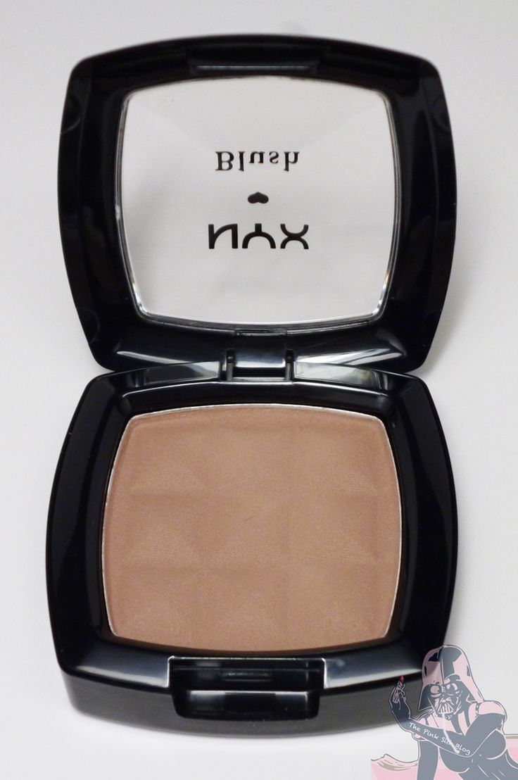 NYX Blush in Taupe. The BEST contour color for pale skin!
