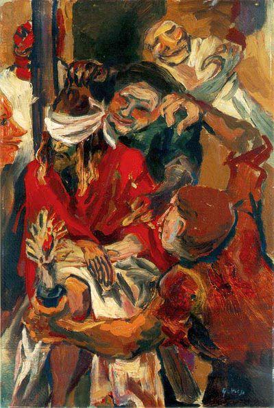 Cristo deriso - Renato Guttuso