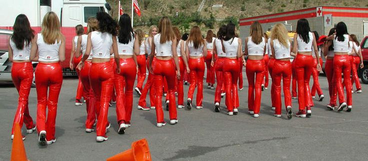 WSB Grid Girl Gallery - PICS mainly - COMMENTS allowed! - Page 7 - Triumph Forum: Triumph Rat Motorcycle Forums