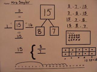 Great for math bell ringer