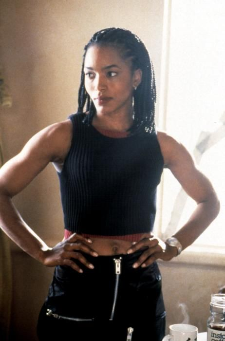 angela bassett in strange days - Some day I will have arms like this :)