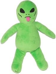 Rip N Dip We Out Here Plush - green