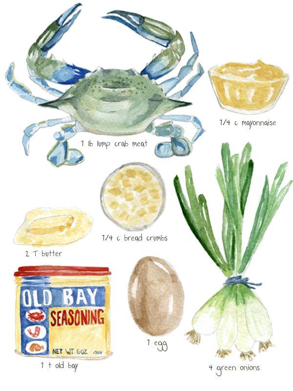 The Best Crabcake Recipe via http://donteatthepaintings.com
