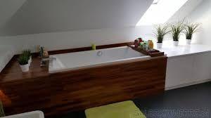 Znalezione obrazy dla zapytania obudowa wanny z drewna