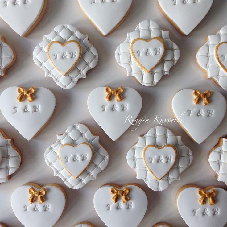 Düğün Kurabiyeleri / Wedding Cookies