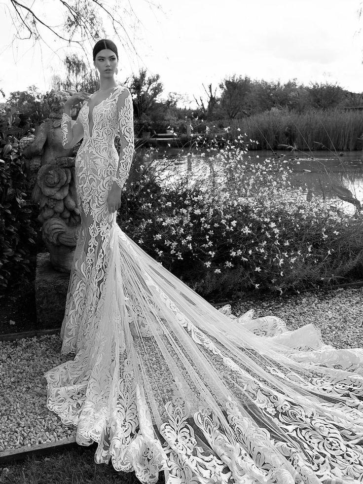Кружевное свадебное платье Berta Bridal
