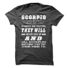 Scorpio Quote T Shirts, Hoodies. Check price ==?