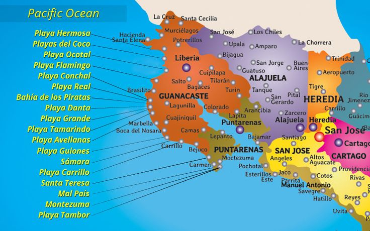 Updated March 2017: With a total of 1228km of coastline to offer, it is no wonder Costa Rica is known for its countless beach destinations. It is also no surprise that travellers have a hard time deciding on which beach town to visit, since there are so many different options to consider. For the purpose of this post, we will focus on Costa Rica's northern pacific beaches stretching from the Papagayo Gulf down to the ever-popular Tamarindo Beach. Of course, additional available beach…