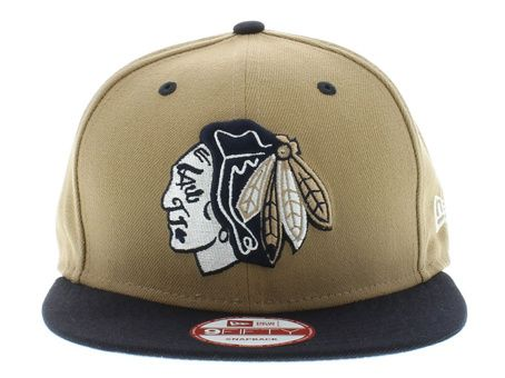 NHL Chicago Blackhawks Snapback Hats Caps Yellow new era 9Fifty 5007! Only $8.90USD