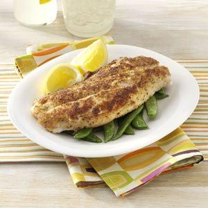 Crumb-Coated Red Snapper Recipe - Loved this coating for fish! Will definitely be fixing again!