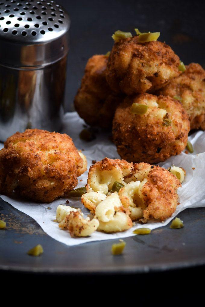 Fried Jalapeño Popper Macaroni & Cheese Balls