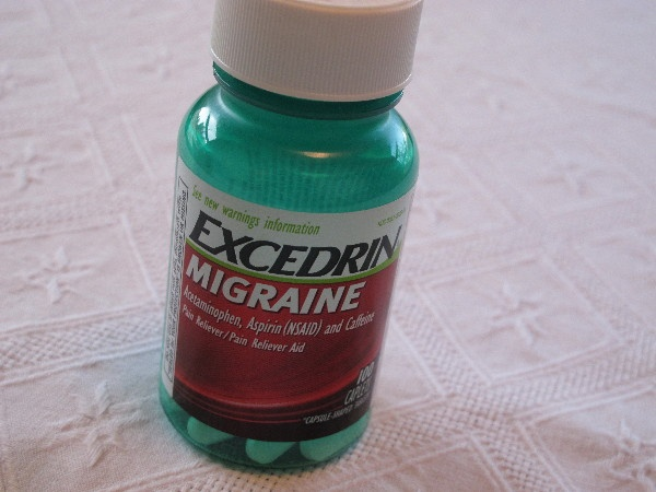 Excedrin  need i get alot of headaches