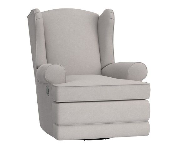 Wingback Rocker u0026 Recliner | Pottery Barn Kids - platinum  sc 1 st  Pinterest & Best 25+ Pottery barn recliner ideas on Pinterest | Pottery barn ... islam-shia.org