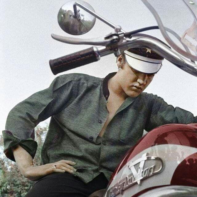 Biker Elvis