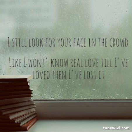 If You Could See Me Now | The script.  Song lyrics