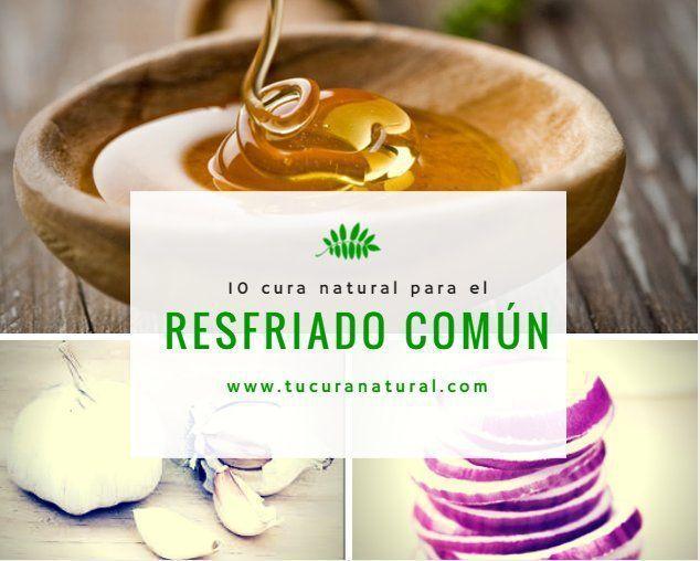 10 cura natural para el resfriado comun