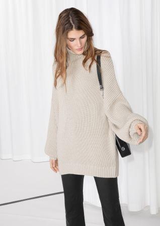 & Other Stories | Jumbo Turtleneck Sweater