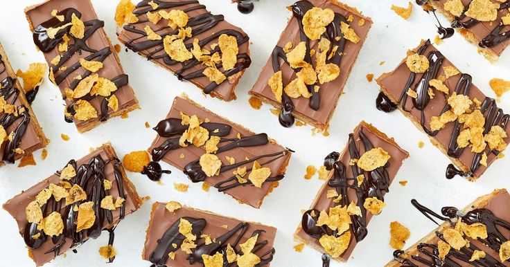 Honey joys have been reinvented into a deliciously easy cornflake chocolate slice.