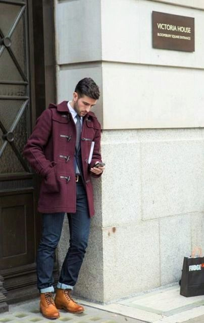 21 Excellent Duffle Coat Outfits For Men