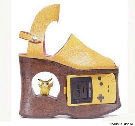 #pokemon #game #boy #shoes