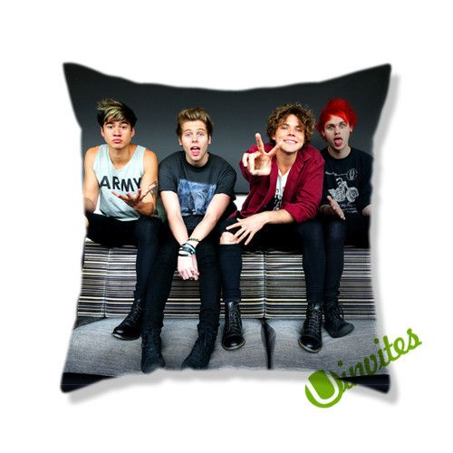 5 Second Of Summers Square Pillow Cover