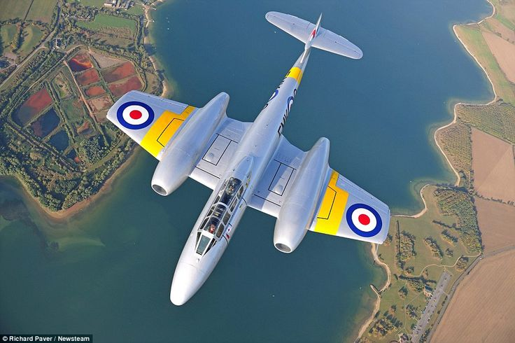 The Gloster Meteor T7: The Meteor was the first British jet fighter and the Allies' first ...