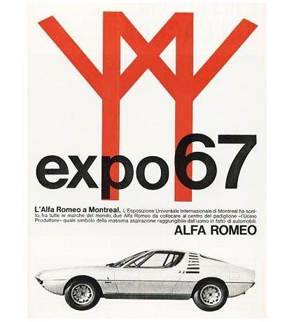 L'Alfa Romeo a Montreal — Designer Unknown