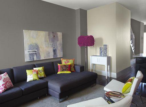 Color Scheme For Living Dining Room W Limited Natural Light