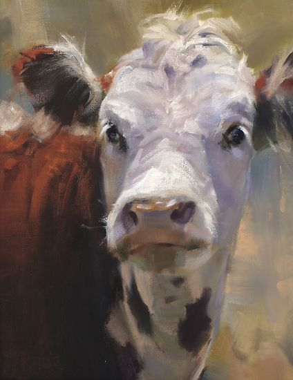All Ears ( Winner, Southwest Art Artistic Excellence Competition 12/2011, Oil Painters of America 2012 National Exhibition) by Daria Shachmu...