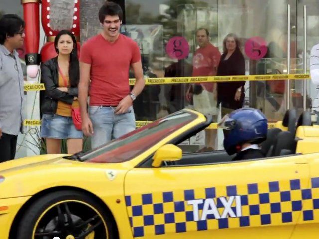 diffrent taxis around the world - Bing images..Singapore Ferrari Taxi