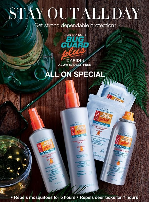 I'm sure Bug Guard is one of the things you forget to pack when planning a trip. Never forget again, order more than one at these great prices and stash one in your suitcase, camping gear, cabin etc Creating an invisible barrier of protection, this essential spray repels mosquitoes for 5 hours and deer ticks for 7 hours. Protect yourself and your family at dawn and dusk all season long!