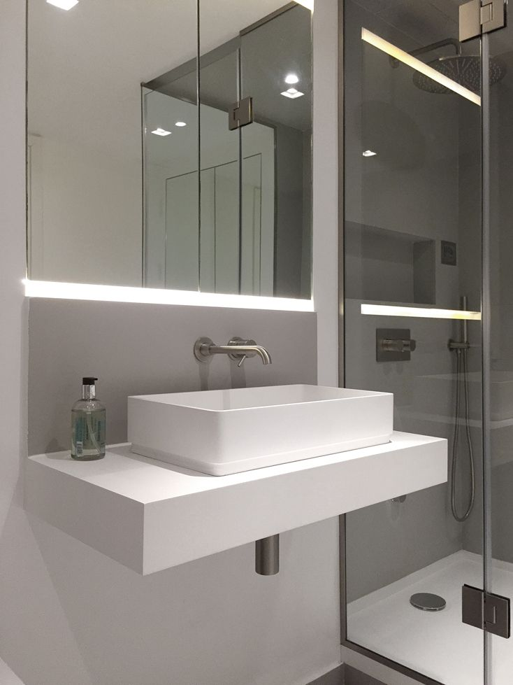 Centurion Building By Ardesia Design #interior #design #bathroom  #countertop #basin #