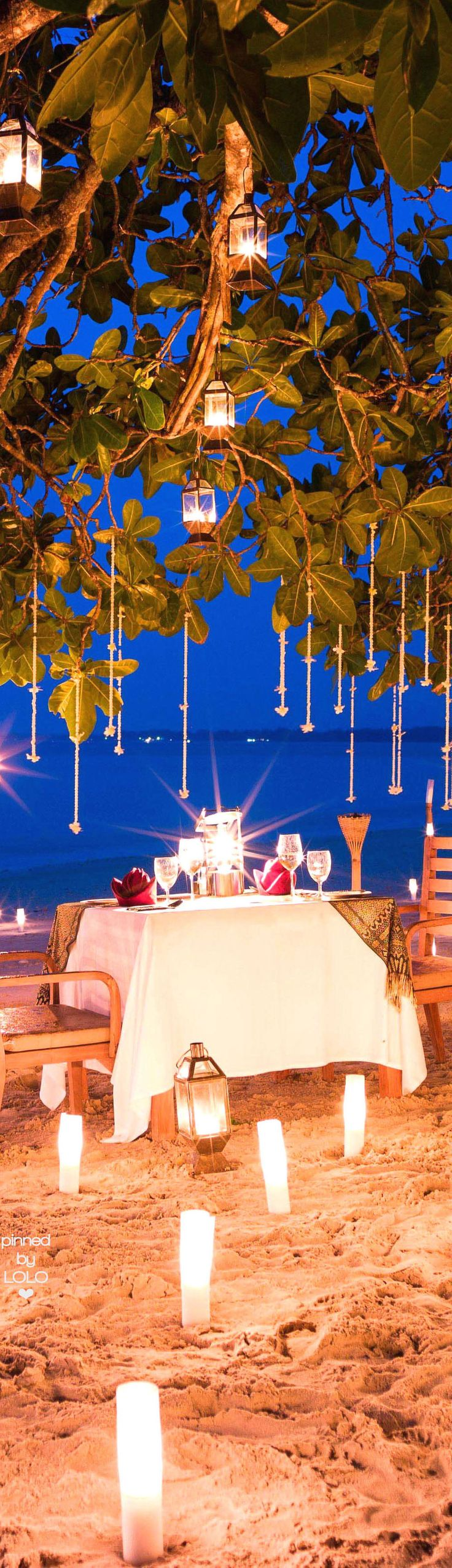 The-Sarojin Beach Private Dining Thailand | LOLO❤︎