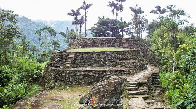 Cité perdue indigène en Colombie