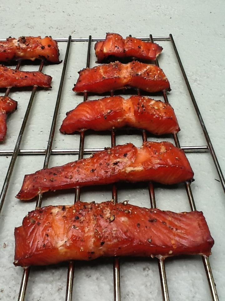 Smoked Chum Salmon. Wild. BC.