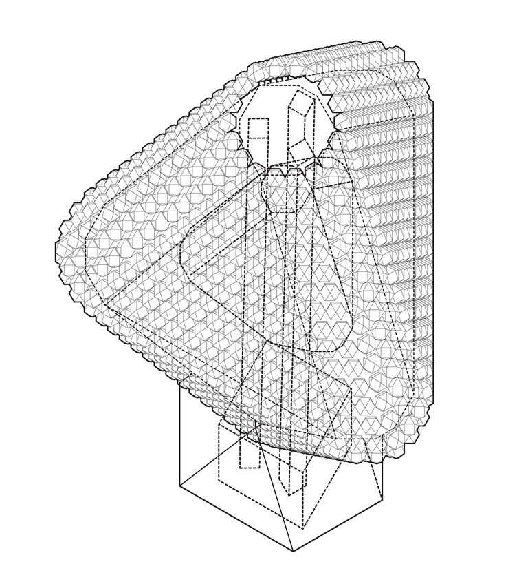 FOCO archive: CITY: Analysis of Kenji Ekuan's Dwelling City (1964) proposal for a hollow tetrahedral metabolist structure with a surface comprised of capsule housing units that could adapt to the ever changing social consciousness #urbanism #architecture #utopia #foco