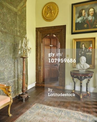 High-Res Stock Photography: Plas Teg Flintshire Wales