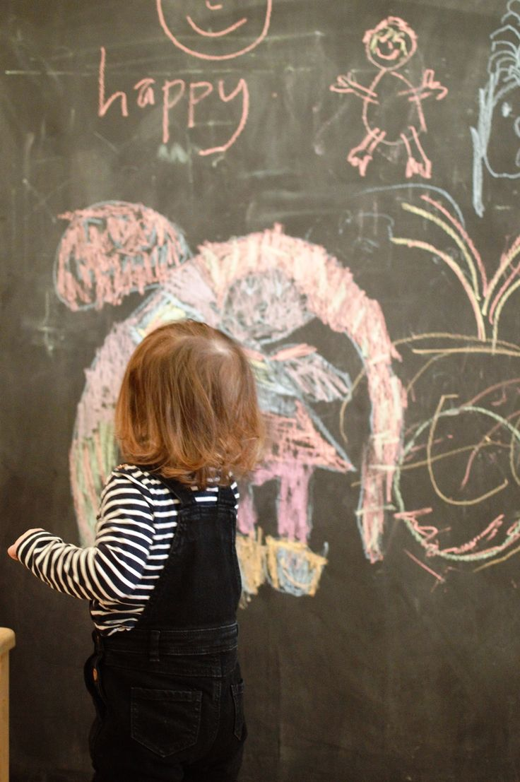 Love this chalkboard wall! Click through to the blog to see this amazing Manchester interiors store!