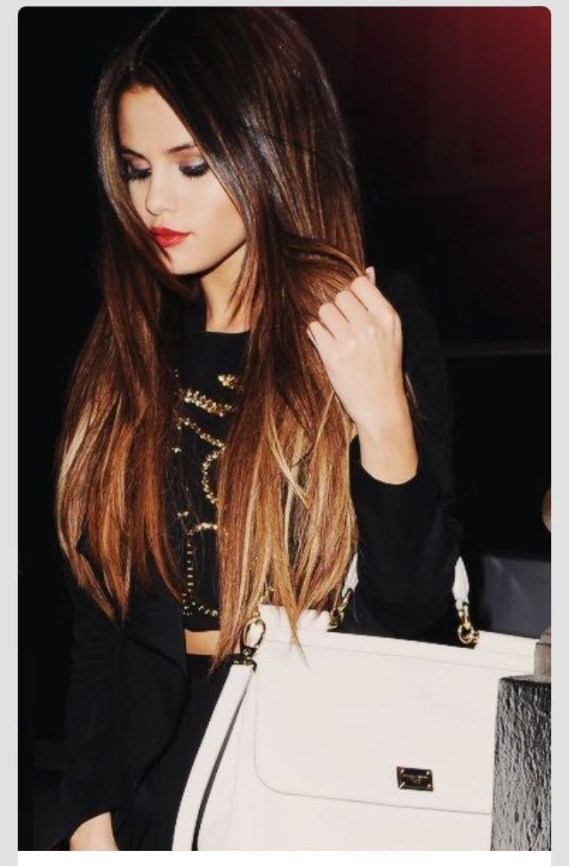 Ombre Hair Color for Dark Hair - Long Hairstyles for Winter